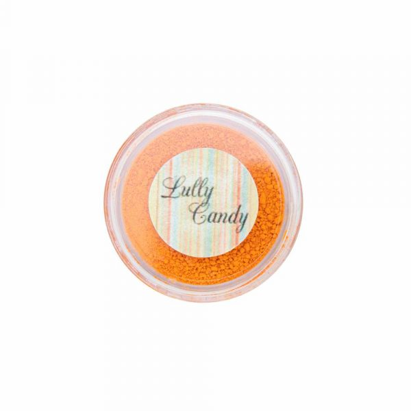 Corante em pó lipossolúvel 1,9g CENOURA - Lully Candy
