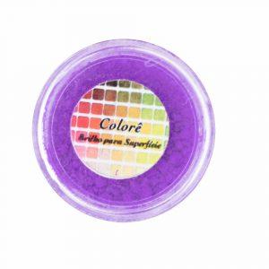 ROXO FLÚOR - Corante em pó lipossolúvel 1,9g – Lully Candy